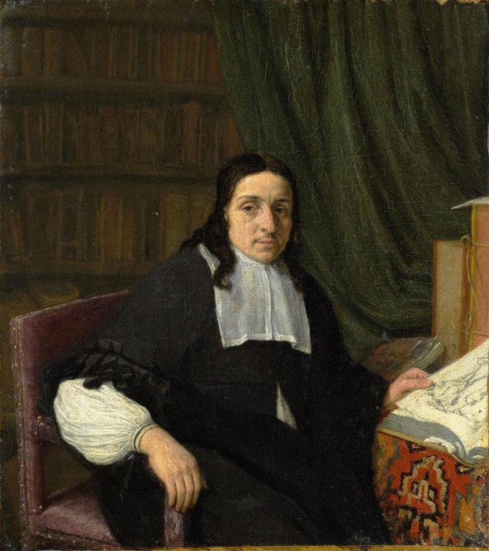 Portrait of a Scholar - Adriaen van Ostade