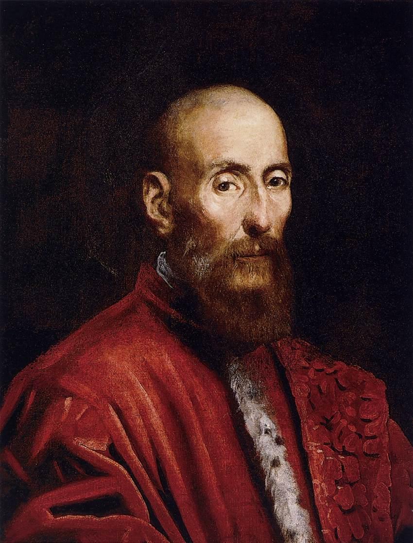 Portrait of a Senator - Tintoretto