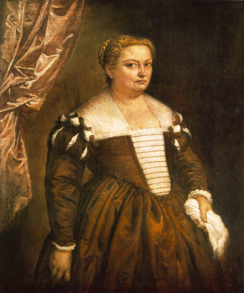 Portrait of a Venetian woman - Francesco Hayez