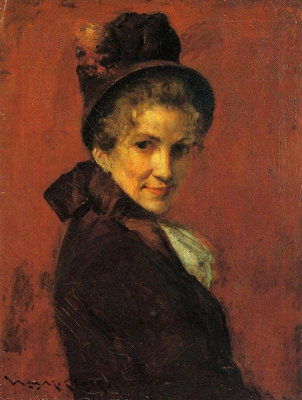 Portrait of a Woman - Edgar Degas