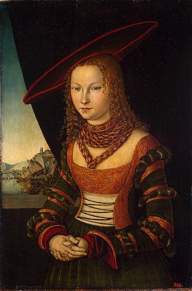 Portrait of a Woman - Lucas Cranach the Elder