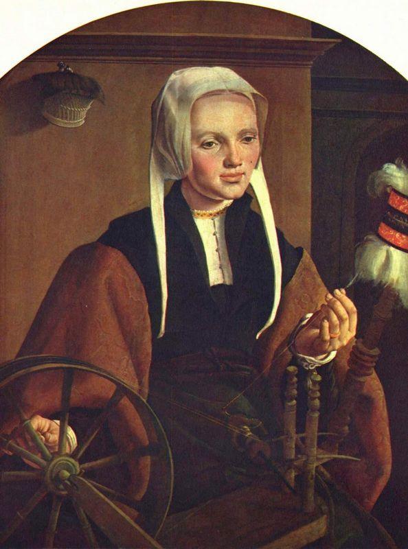 Portrait of a Woman - Maerten van Heemskerck