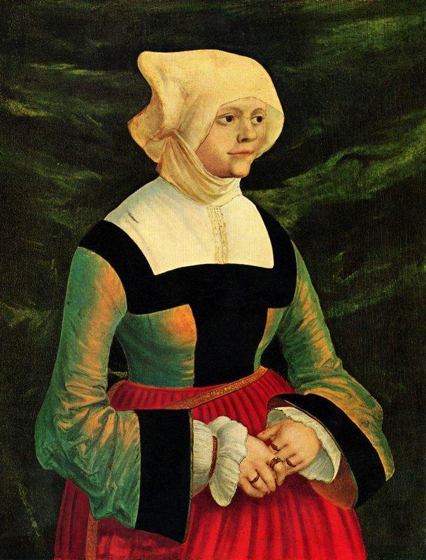 Portrait of a Woman - Albrecht Altdorfer