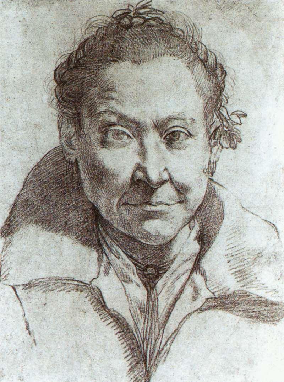 Portrait of a woman - Agostino Carracci