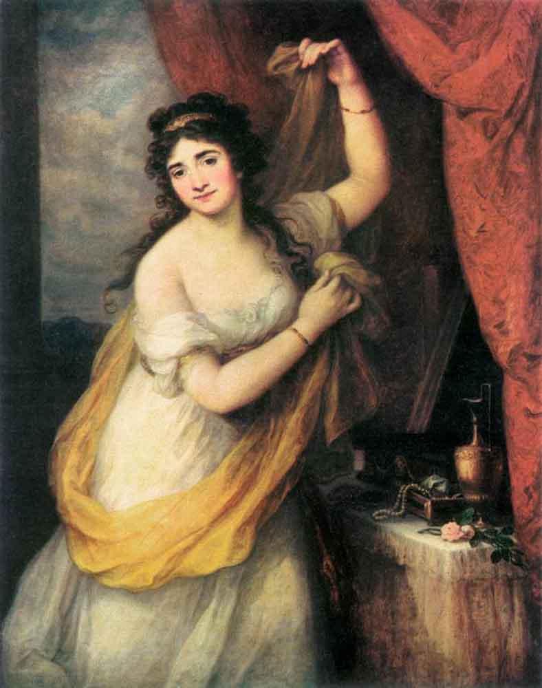 Portrait Of A Woman - Angelica Kauffman
