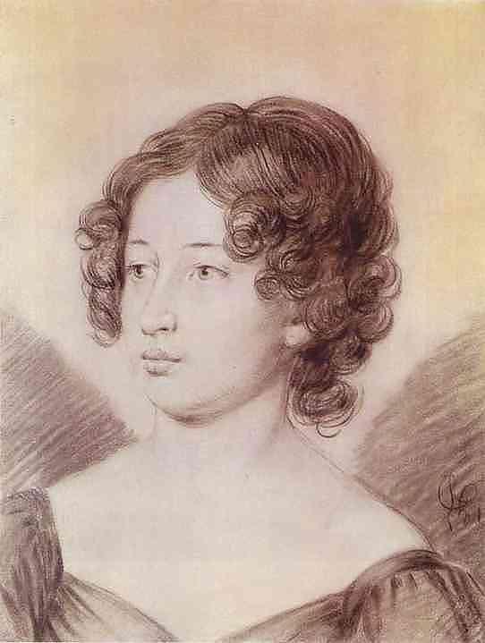 Portrait of a Woman - Alexander Orlowski