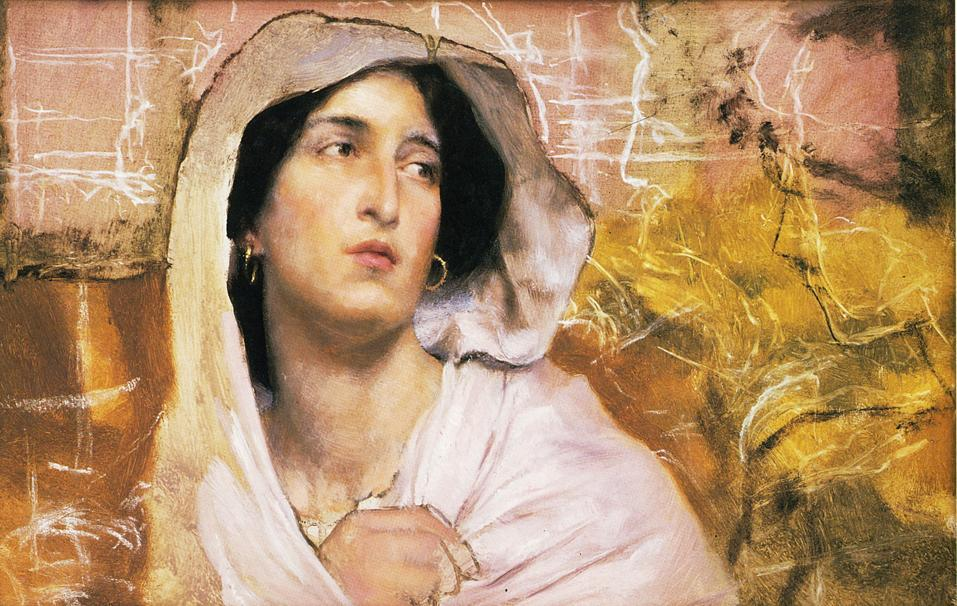 Portrait of a Woman - Sir Lawrence Alma-Tadema
