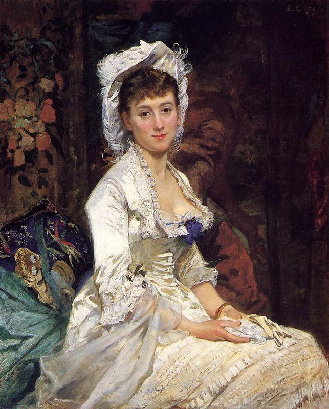 Portrait of a Woman in White - Alfred Stevens
