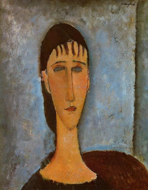 Portrait of a Young Girl - Amedeo Modigliani