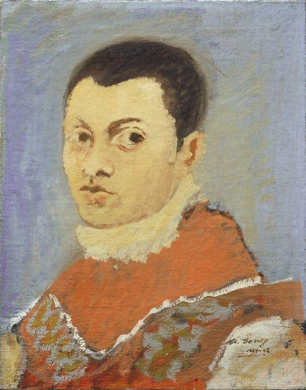 Portrait of a Young Man - Arshile Gorky
