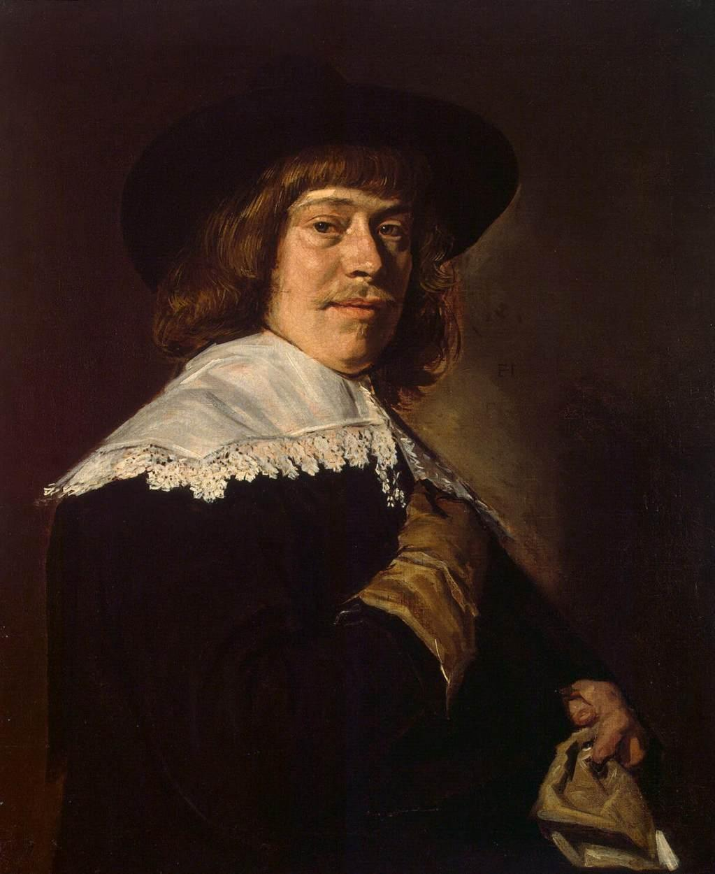 Portrait of a Young Man with a Glove  - Frans Hals