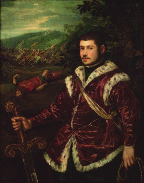 Portrait of a young man - El Greco