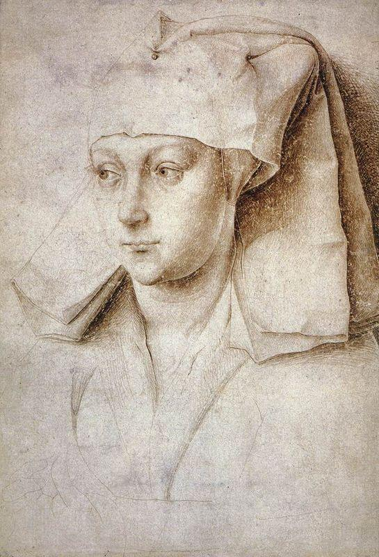 Portrait of a Young Woman - Rogier van der Weyden