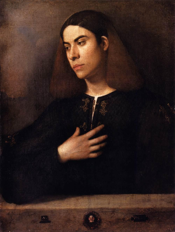 Portrait of a Youth (Antonio Broccardo) - Giorgione