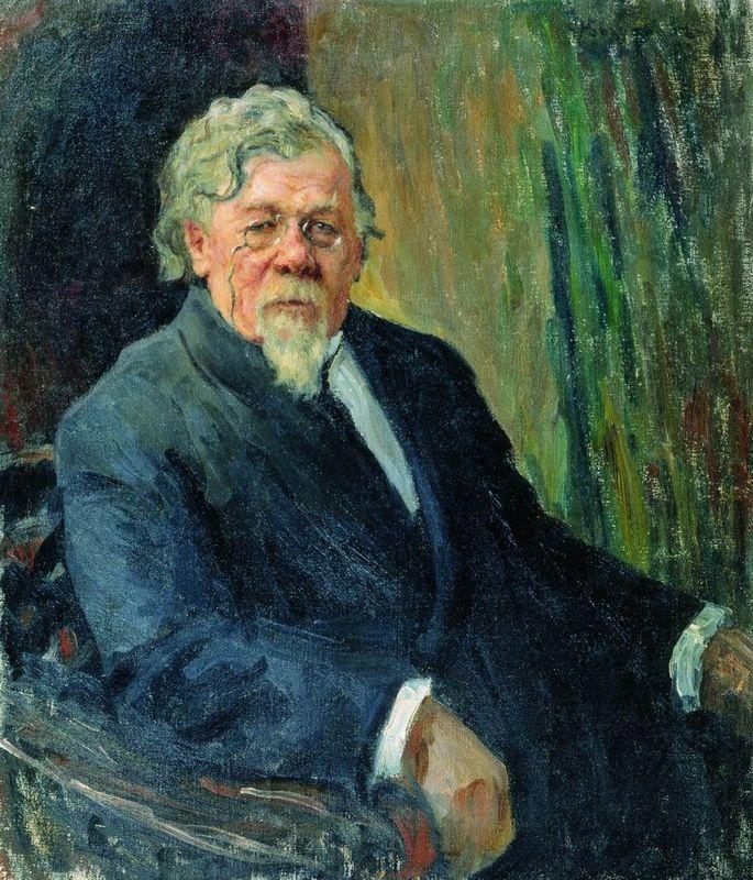 Portrait of Actor of Moscow Art Theatre - Nikolay Bogdanov-Belsky