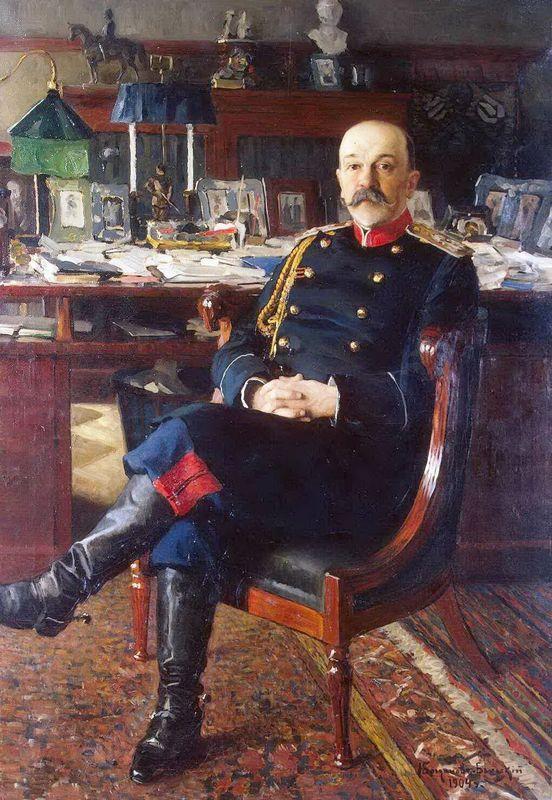 Portrait of Adjutant General P.P.Gesse - Nikolay Bogdanov-Belsky