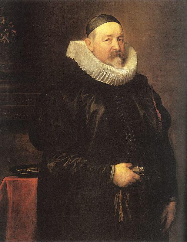 Portrait of Adriaen Stevens - Anthony van Dyck