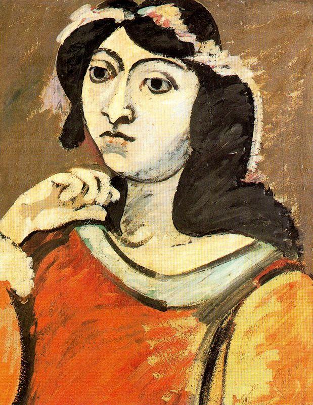 Portrait of Ahko - Arshile Gorky