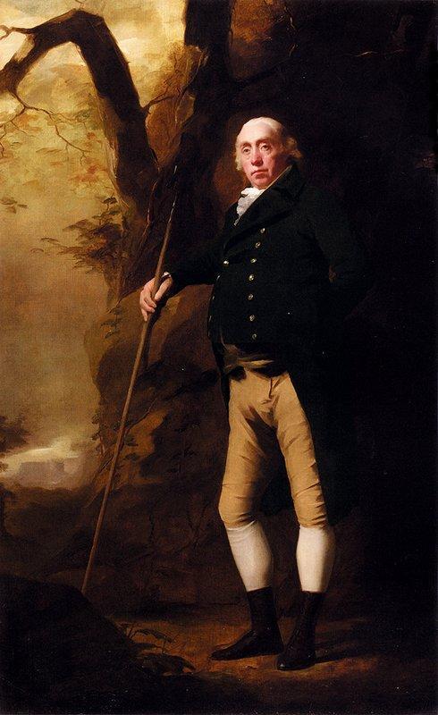 Portrait of Alexander Keith of Ravelston, Midlothian - Henry Raeburn