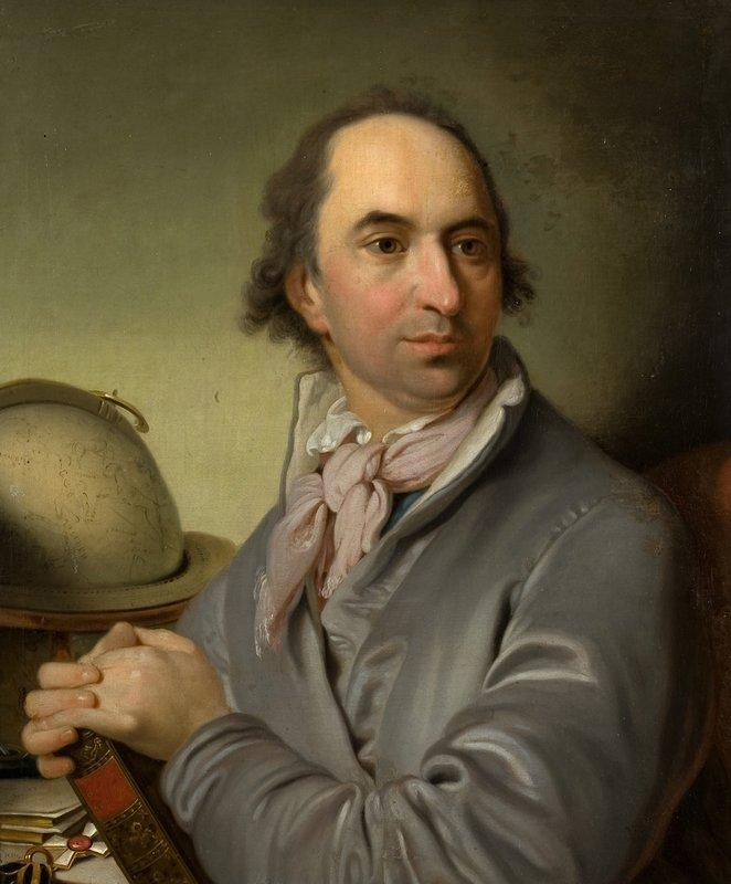 Portrait of Alexander Semenovitsch Chvostov - Vladimir Borovikovsky