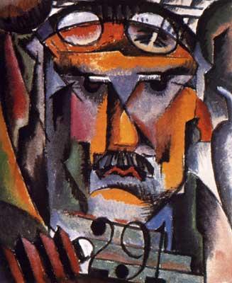 Portrait of Alfred Stieglitz - Man Ray