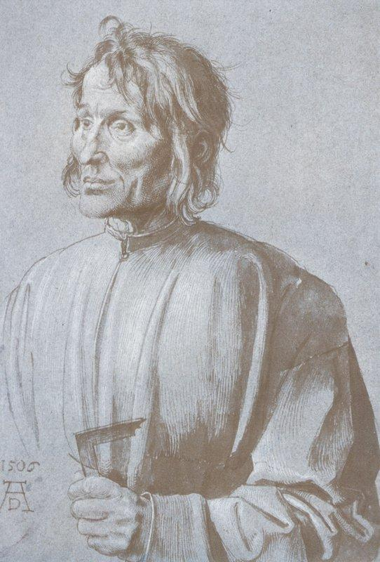 Portrait of an architect  - Albrecht Durer