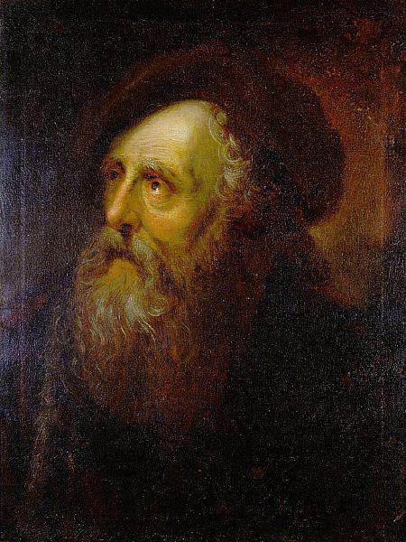 Portrait of an Old Jew - Antoine Pesne