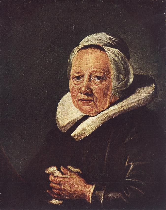 Portrait of an Old Woman - Gerrit Dou