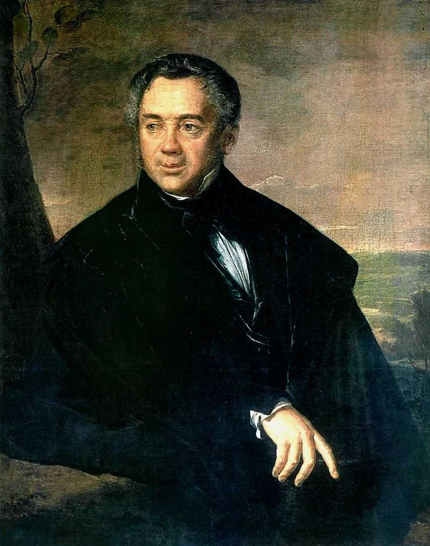 Portrait of an unknown - Vasily Tropinin