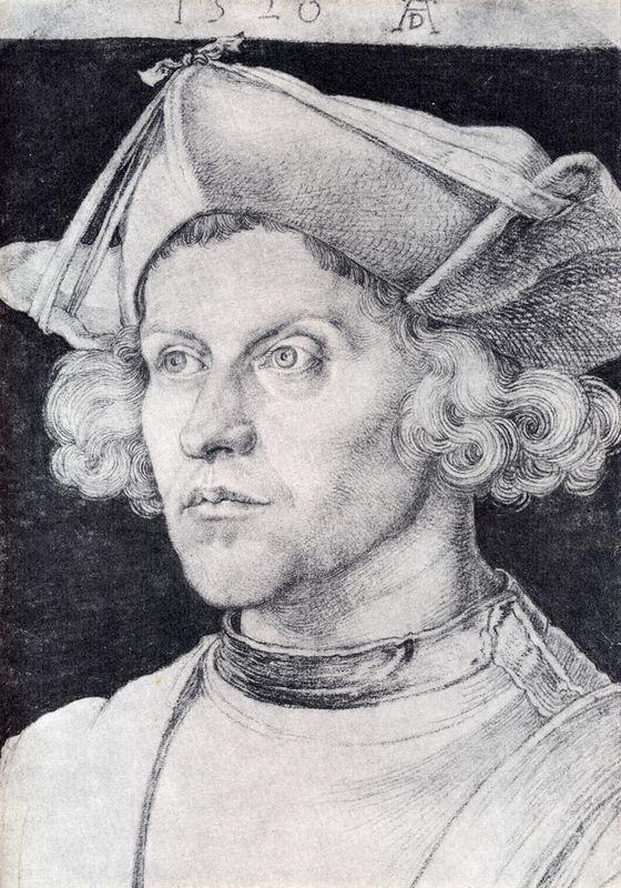 Portrait Of An Unknown Man - Albrecht Durer