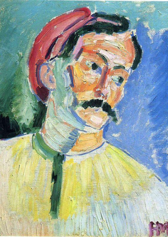 Portrait of Andre Derain - Henri Matisse