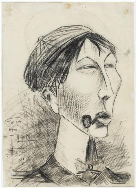 Portrait of Andre Mare - Fernand Leger