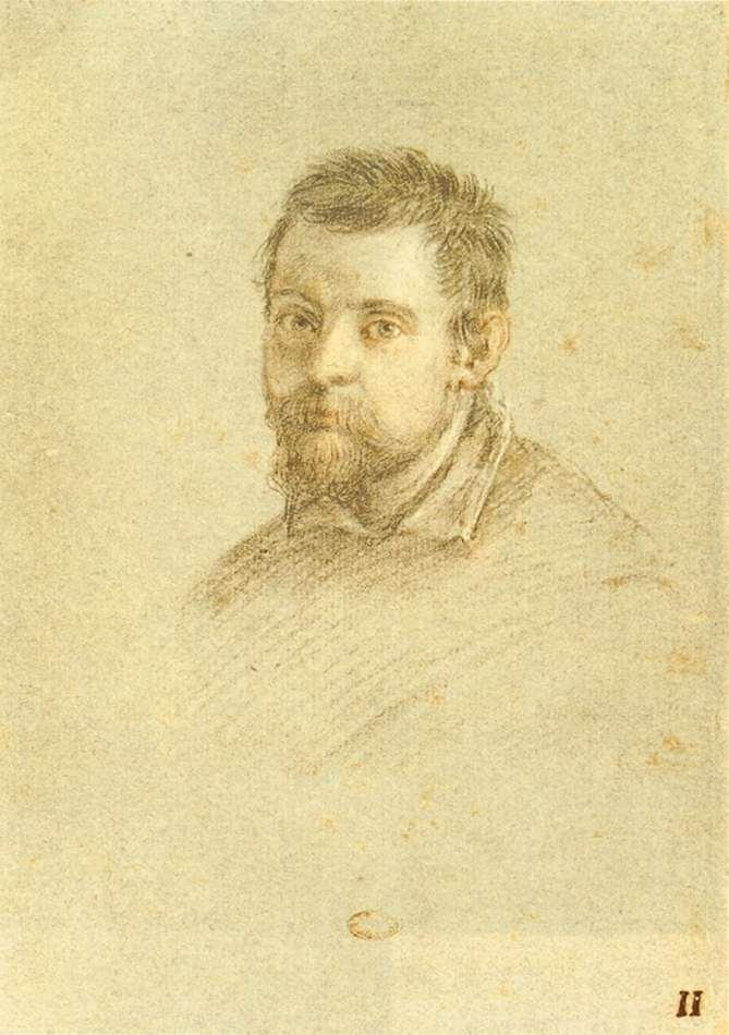 Portrait of Annibale Carracci - Annibale Carracci