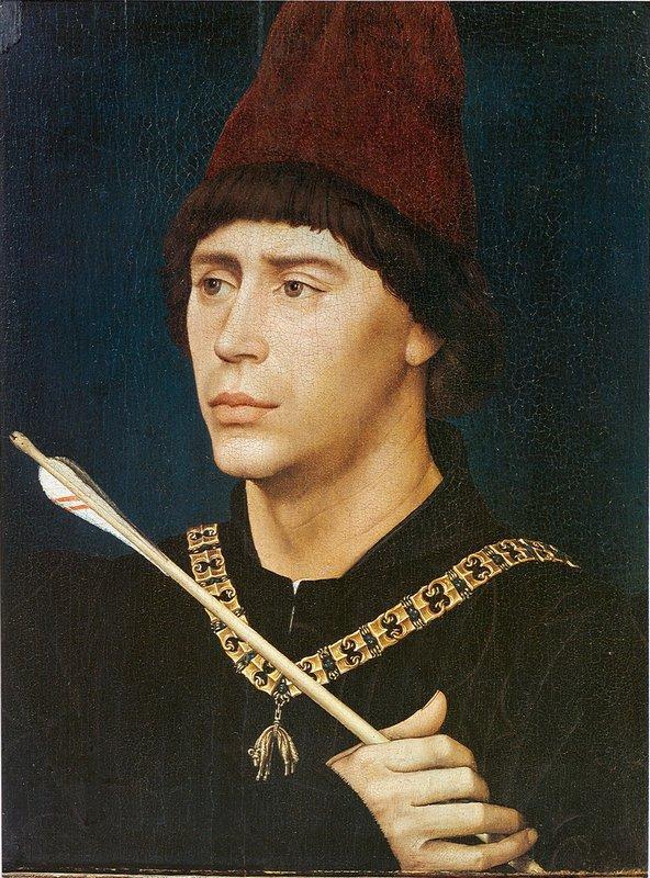 Portrait of Antoine, bastard of Burgundy - Rogier van der Weyden