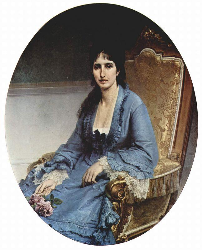 Portrait of Antoniet Negroni Prati Morosini - Francesco Hayez