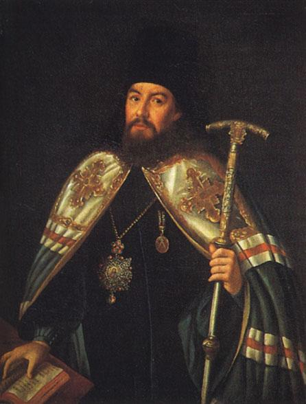 Portrait of archbishop Gavriil Petrov - Aleksey Antropov
