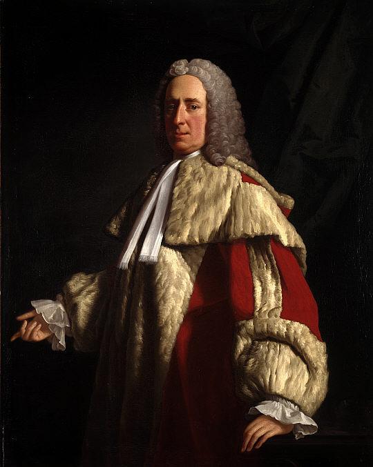 Portrait of Archibald Campbell, 3rd Duke of Argyll - Allan Ramsay