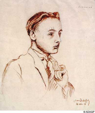 Portrait of Armand Salacrou - Jean Dubuffet