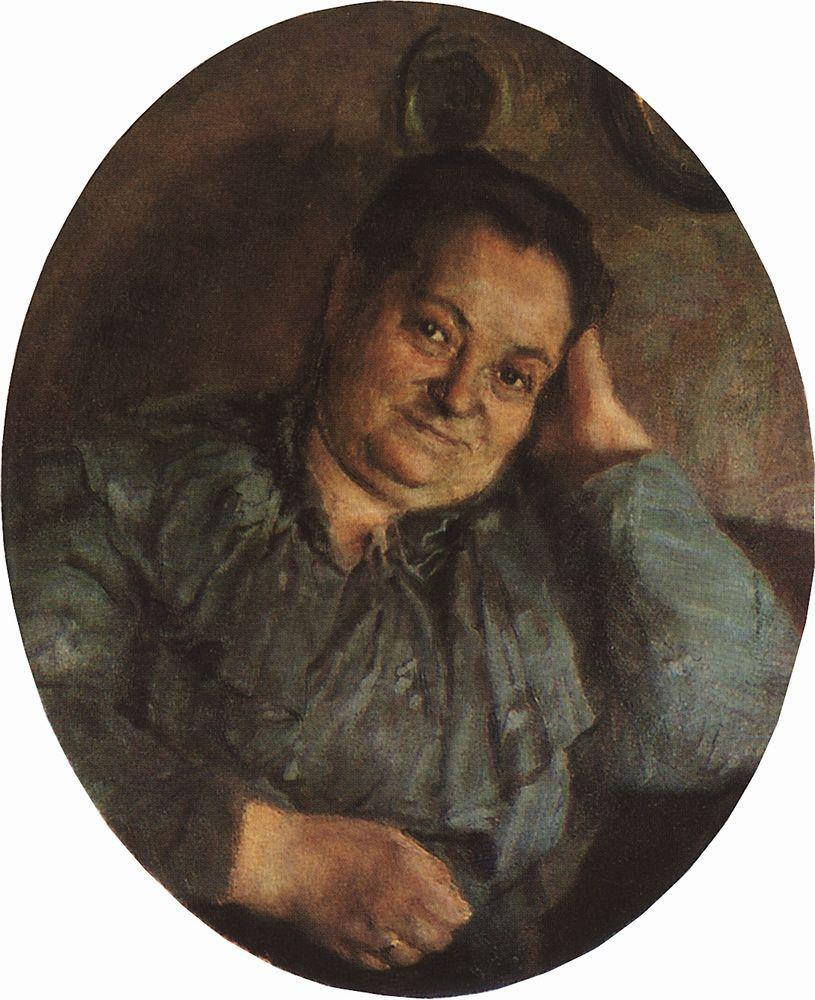 Portrait of Artist's Mather - Konstantin Somov
