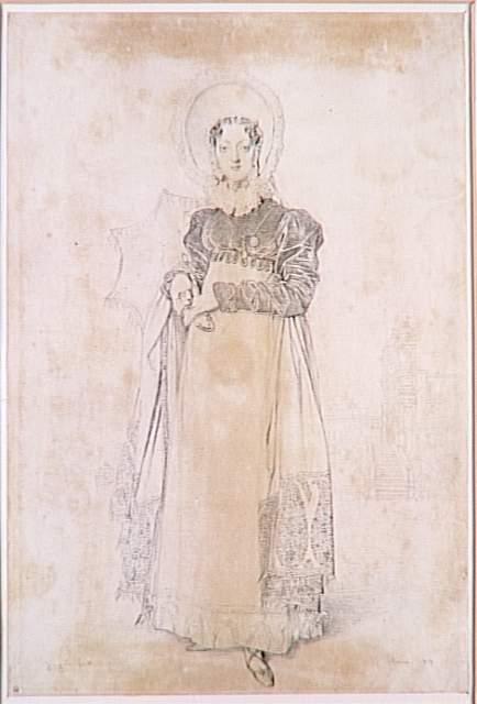 Portrait of Baroness Papenheim - Jean Auguste Dominique Ingres