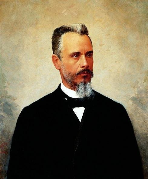 Portrait of Bernardino de Campos - Jose Ferraz de Almeida Junior