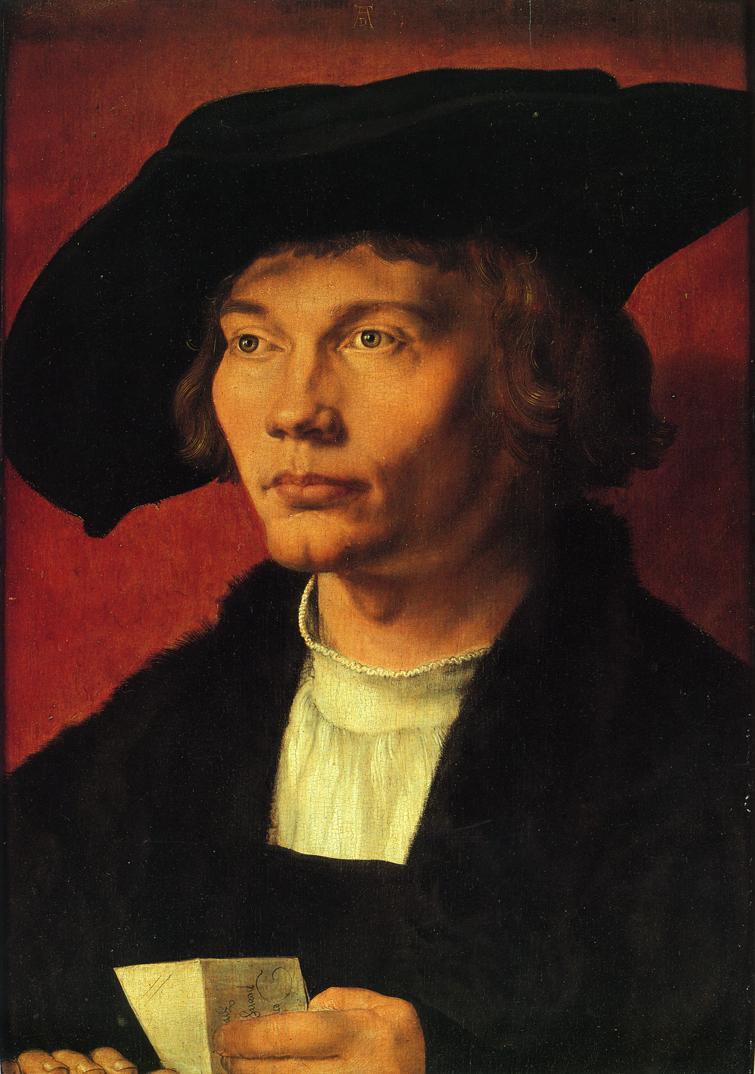 Portrait of Bernhard von Reesen - Albrecht Durer