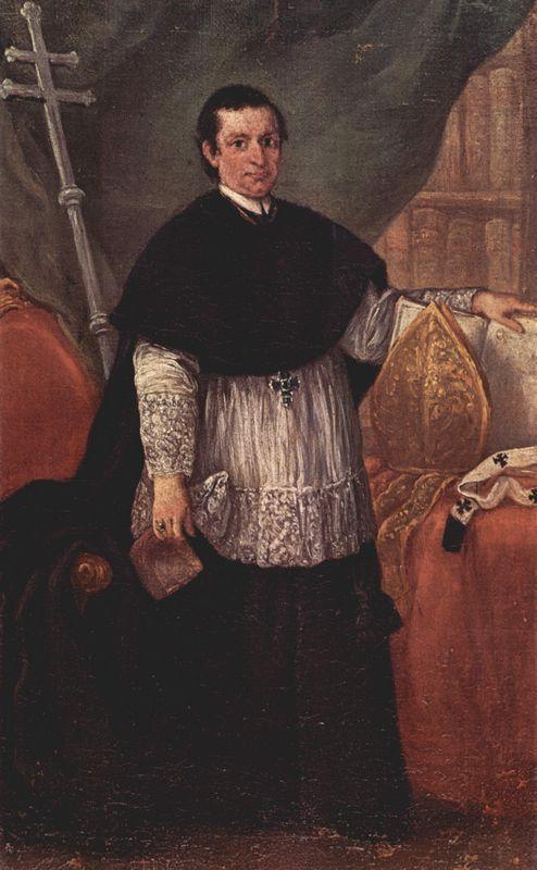 Portrait of Bishop Benedetto Ganassoni - Pietro Longhi