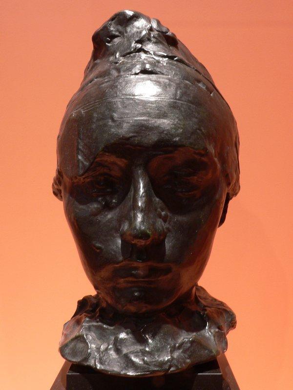 Portrait of Camille Claudel with a Bonnet - Auguste Rodin