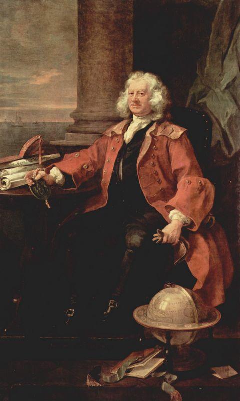Portrait of Captain Coram - William Hogarth