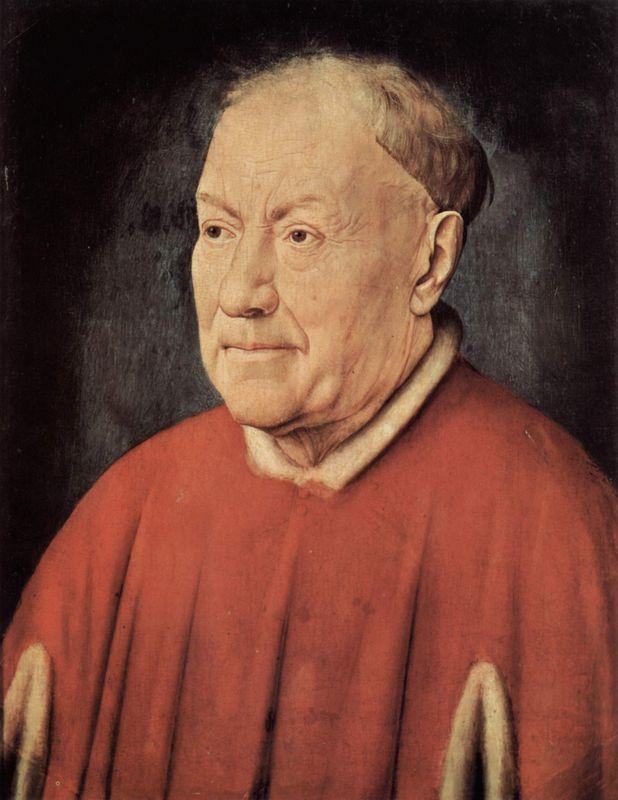 Portrait of Cardinal Albergati  - Jan van Eyck