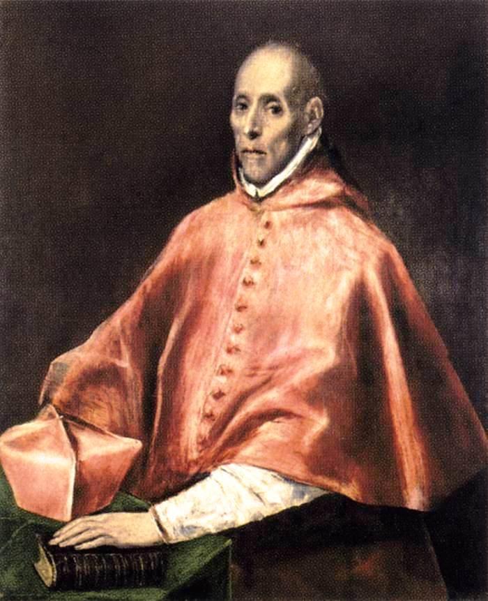Portrait of Cardinal Tavera - El Greco