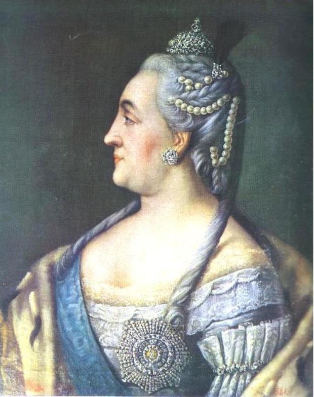 Portrait of Catherine II the Great - Aleksey Antropov