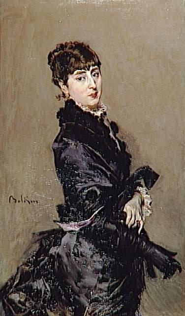 Portrait of Cecilia de Madrazo - Giovanni Boldini