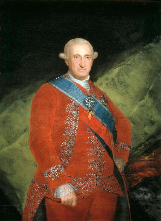 Portrait of Charle IV of Spain - Francisco Goya